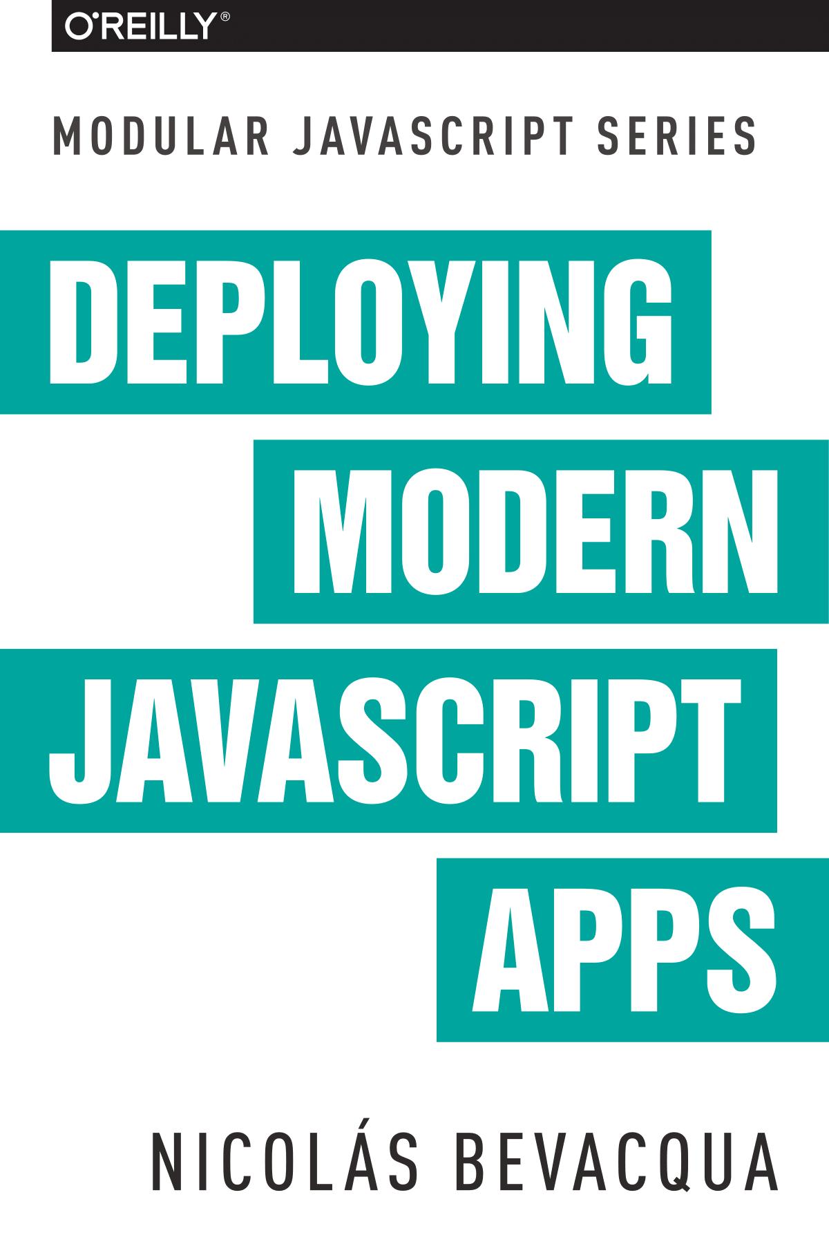 Modular Javascript Book Series